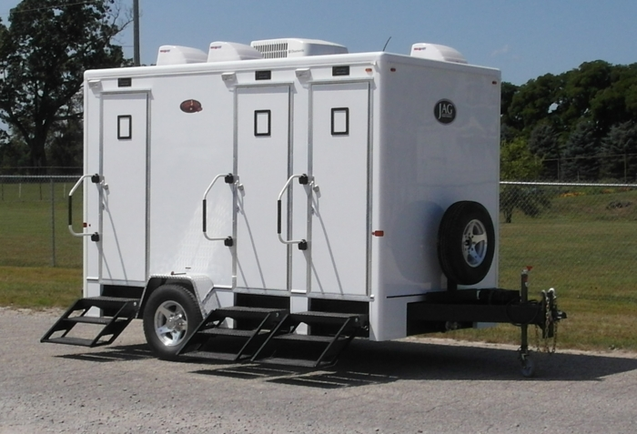 Portable Restroom Trailer Rentals Portable Sanitation Systems - Bathroom trailer rentals