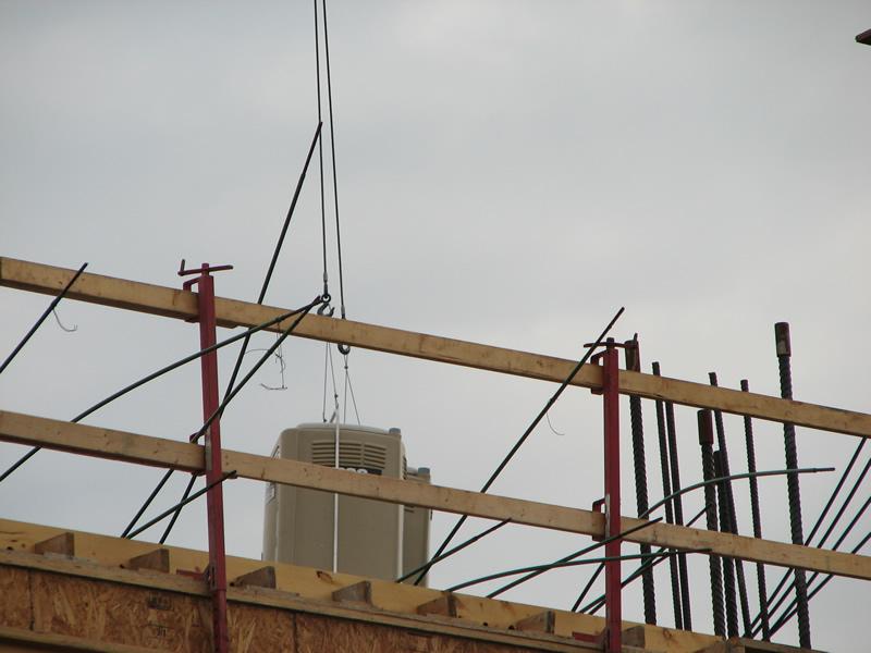 Rooftop construction unit 8