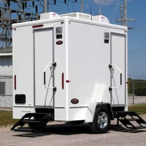 Porta Lisa Portable Restroom Trailer Rental