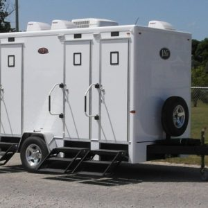 Residence 4 Portable Restroom Trailer Rental