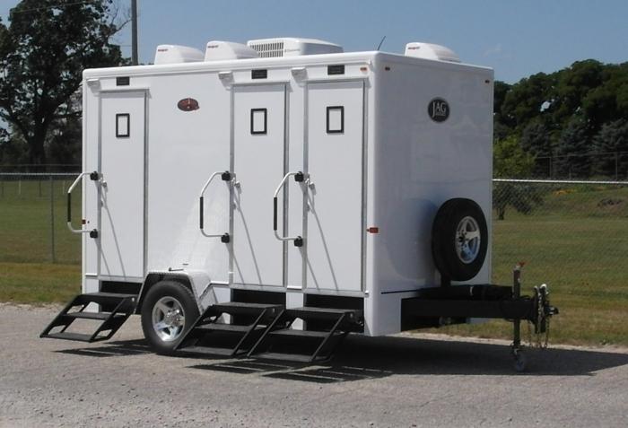Residence 4 Portable Restroom Trailer Rental Portable Sanitation Systems